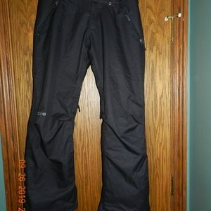 Burton Black Ski Pants